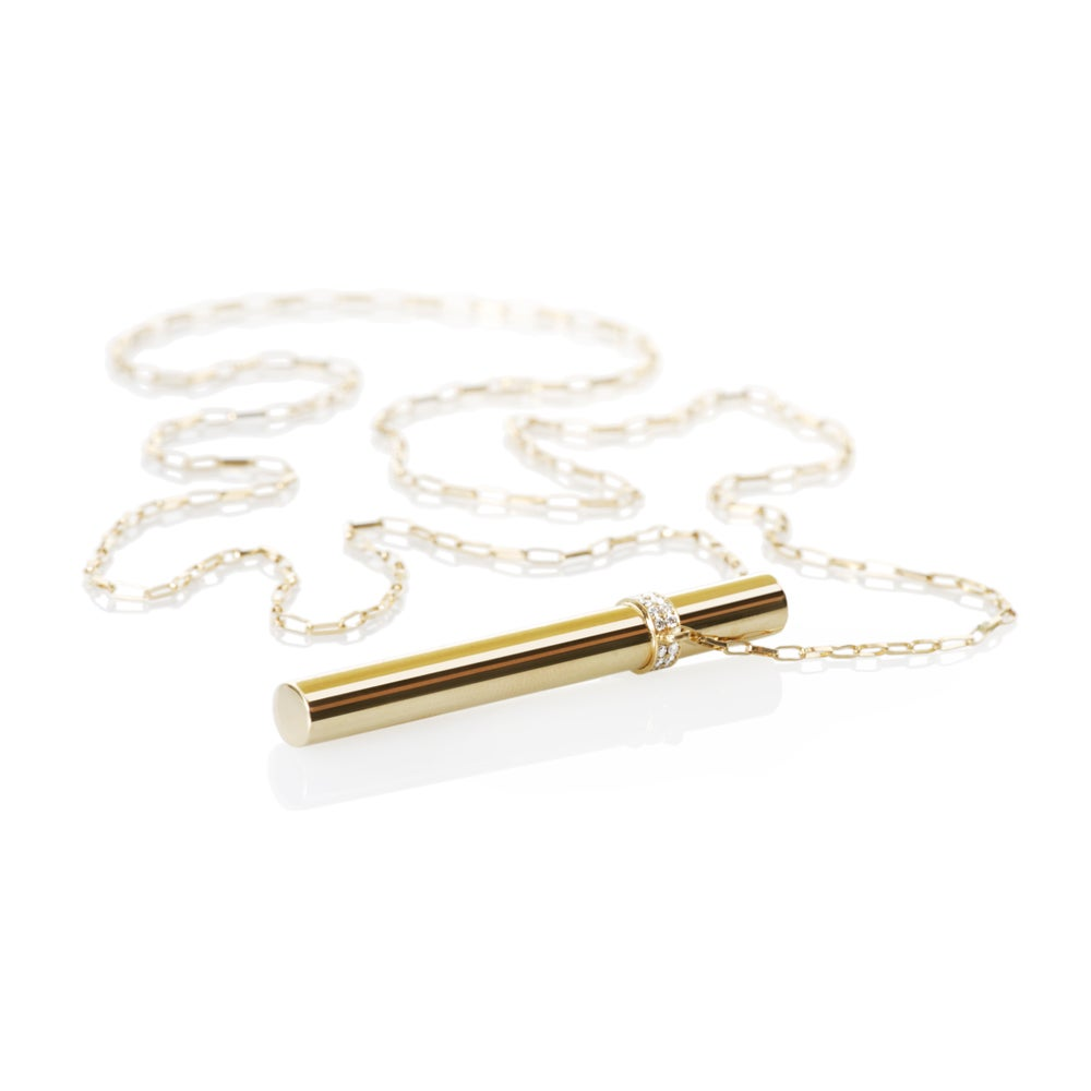 Image of Necklace in 18 carat gold, 52 mm