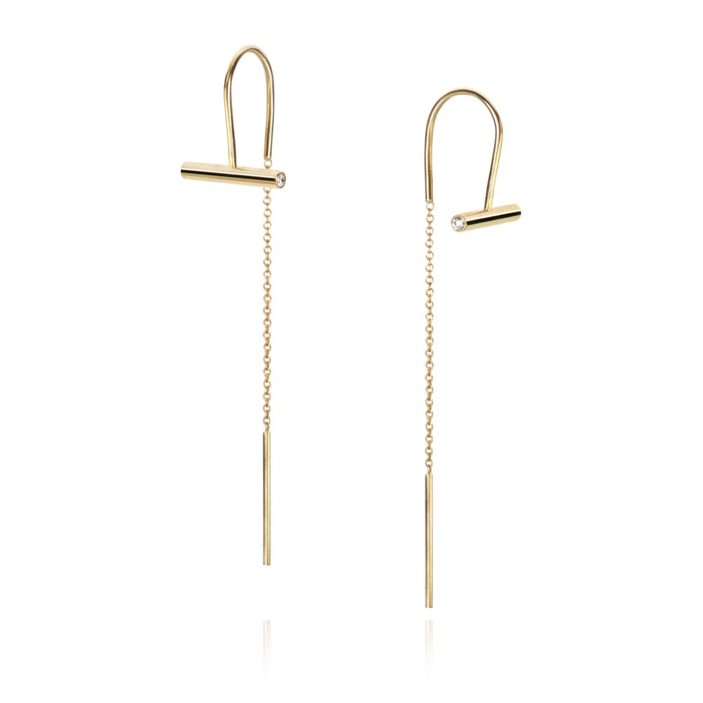 Image of Earrings in 18 carat gold