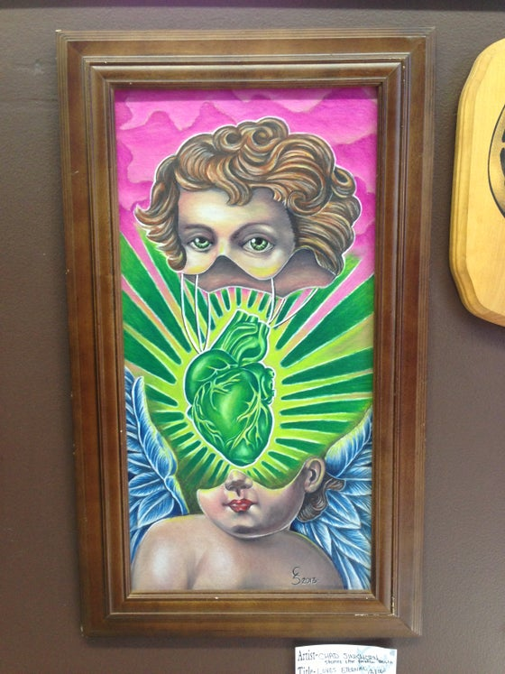 Image of LOVES ETERNAL GLOW   ORIGINAL BY CHAD SINKHORN