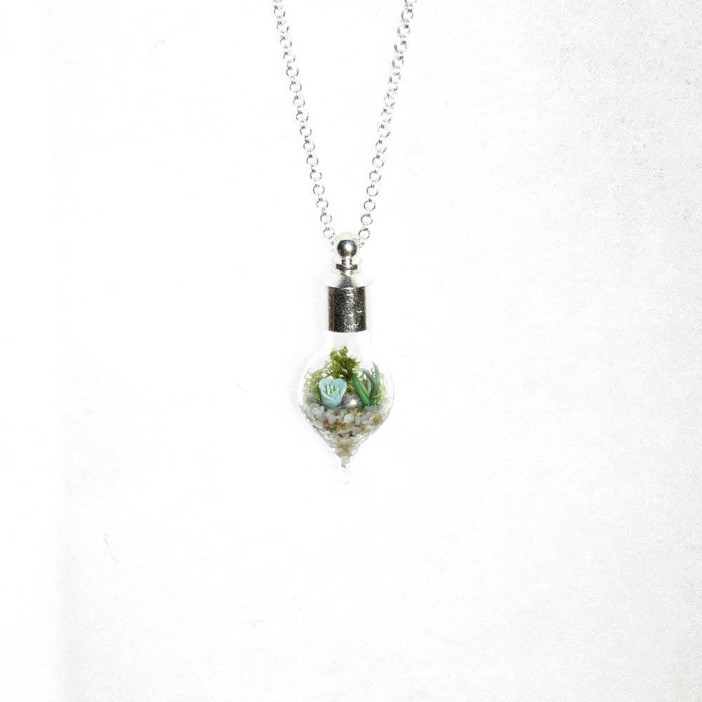 garden jewelry glass terrarium necklace terrarium