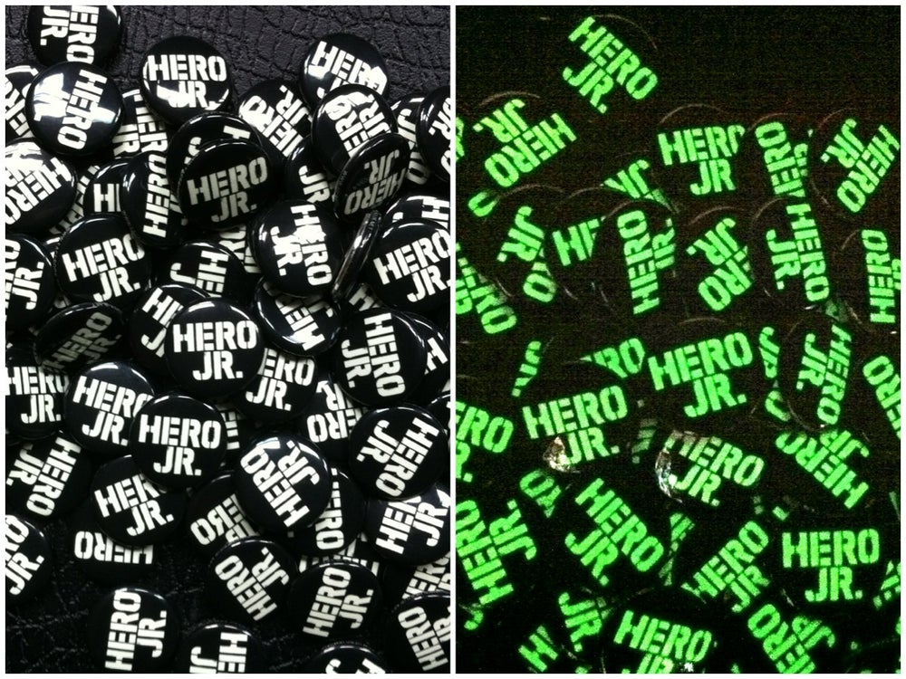 Image of Glow-in-the-Dark Logo Button 2 for $2.00