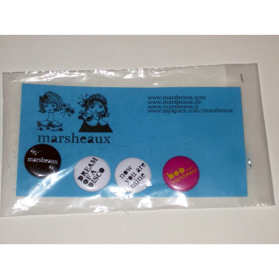Image of Marsheaux Set of 4 badges