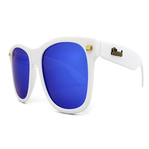 Image of MATTE WHITE MOONSHINE FORT KNOCKS (POLARIZED)