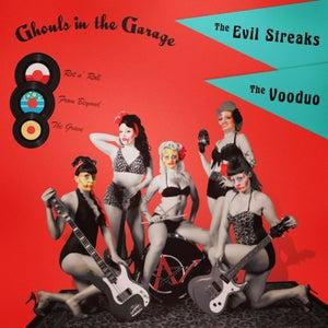 "Image of Evil Streaks/Vooduo ""Ghouls in the Garage"" Split 12"" LP"