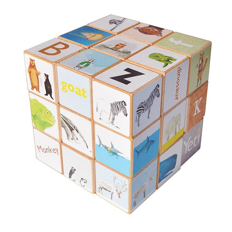 Image of Animal Alphabet blocks