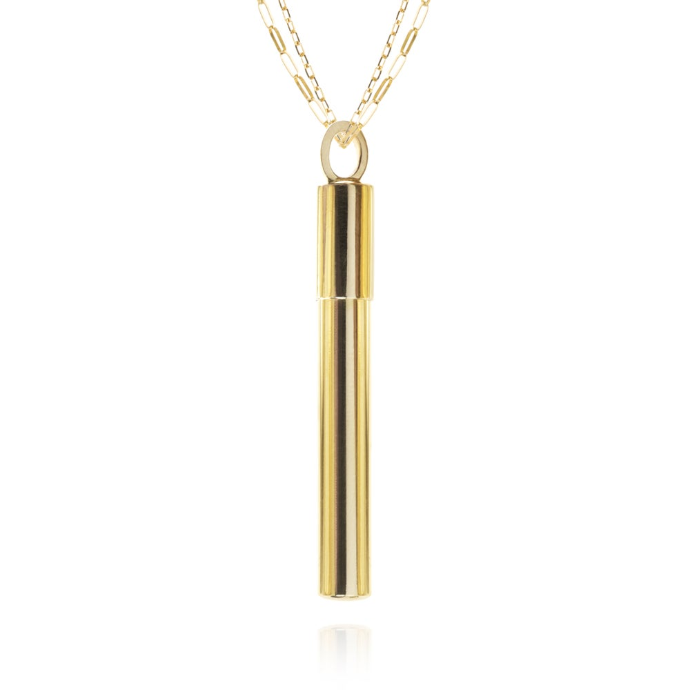 Image of Necklace in 18 carat gold, 45 mm