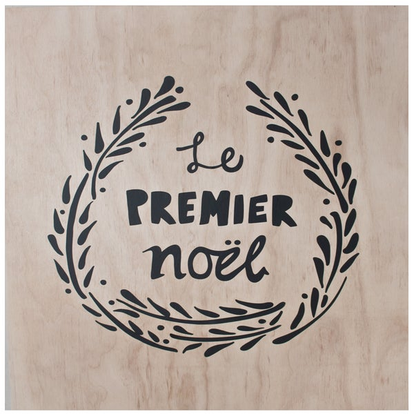 Image of Le Premier Noel Wall Decal