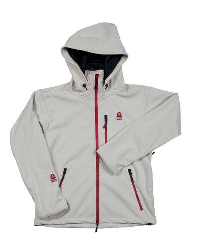 Image of Antero II Goretex Hybrid Yeti White Waterproof Breathable Windproof Jacket Made in Colorado