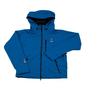 Image of ANTERO II GORETEX HYBRID BELGIAN BLUE WATERPROOF BREATHABLE WINDPROOF JACKET MADE IN COLORADO