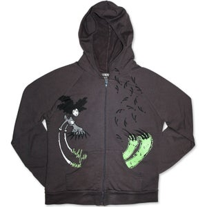 Image of UP IN ARMS - women's asphalt hoody