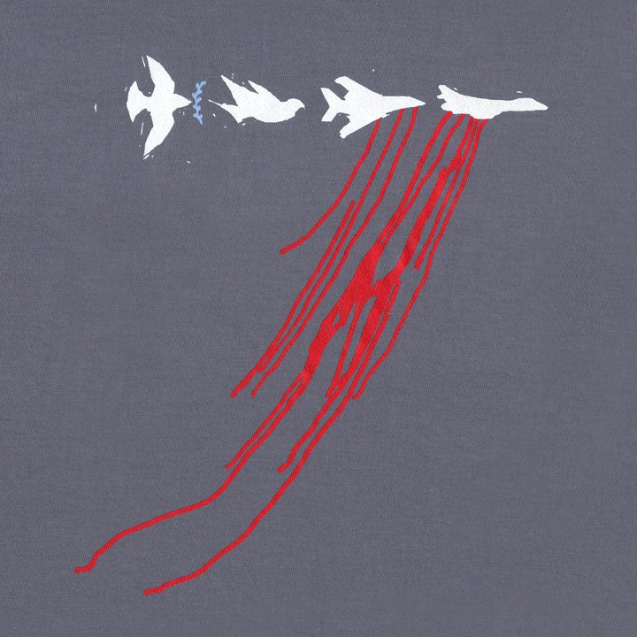 Image of DOVES - men's slate t-shirt by Dr. Bolick