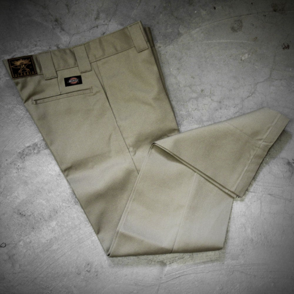 Image of WEIRD X DICKIES ( SLIM FIT ) 873 A  - BROWN