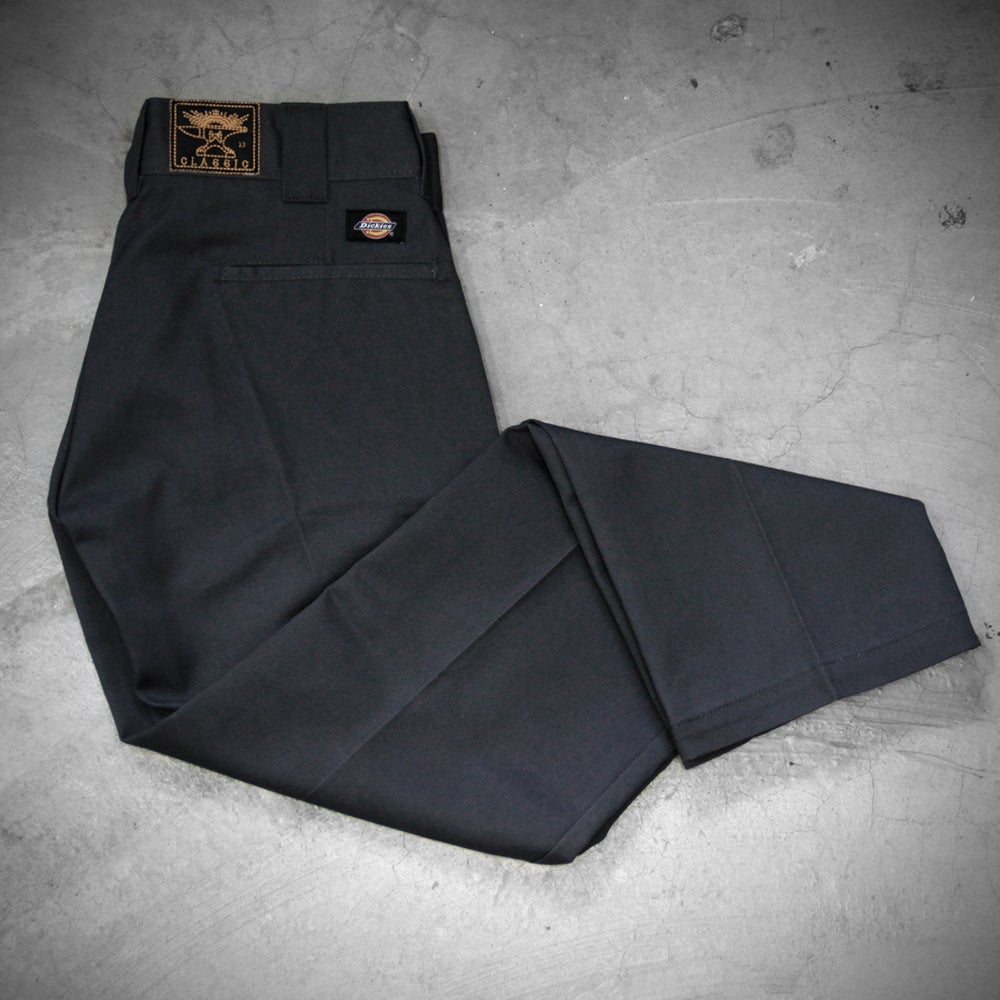 Image of WEIRD X DICKIES ( SLIM FIT ) 873 A  - GREY