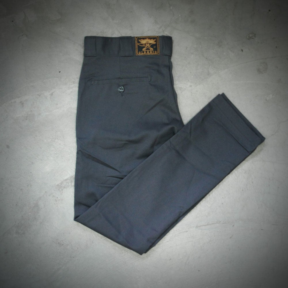 Image of WEIRD x DICKIES ( SKINNY ) 801 A  - GREY