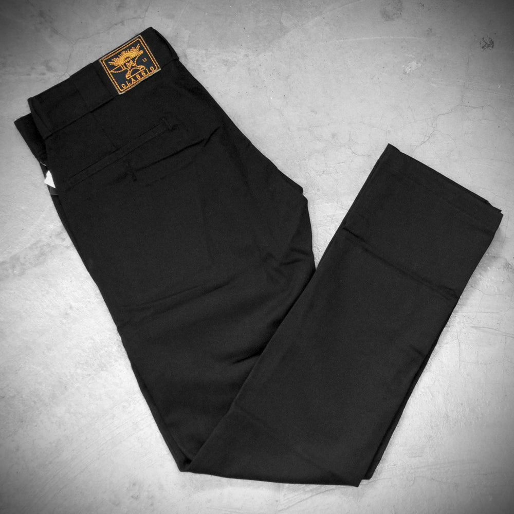 Image of WEIRD x DICKIES ( SKINNY ) 801 A  - BLACK