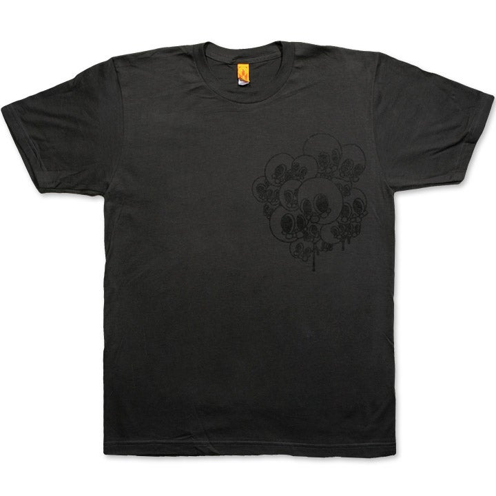 Image of SKULLSALOT - men's asphalt t-shirt
