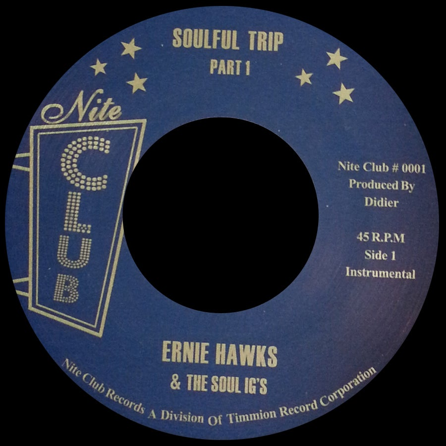 Image of NC-001 ERNIE HAWKS & THE SOUL INVESTIGATORS
