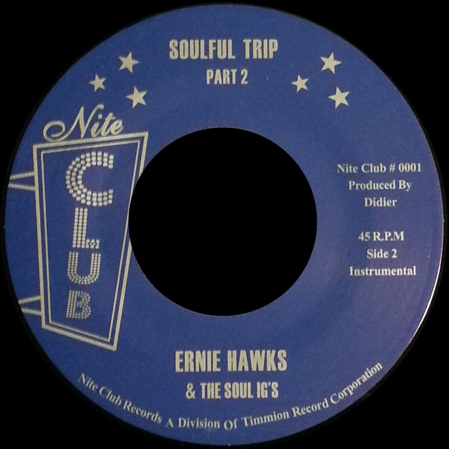 Image of NC-001 ERNIE HAWKS & THE SOUL INVESTIGATORS