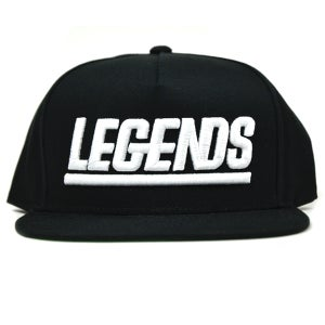 Image of LEGENDS BLACK SNAPBACK