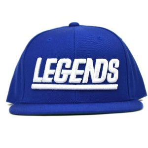 Image of ROYAL BLUE LEGENDSNAPBACK