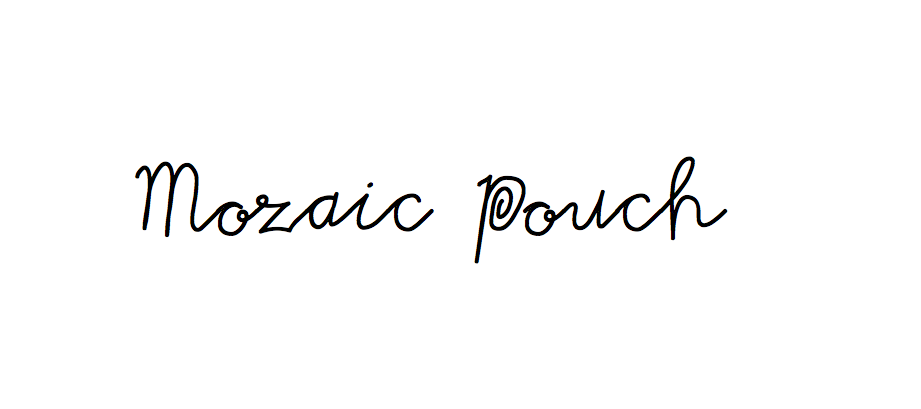 Image of The Mozaic Extra Pouch