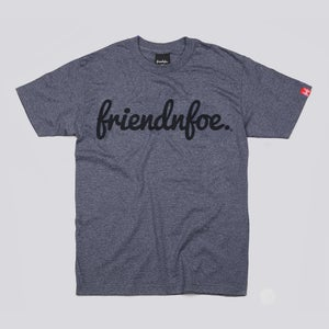 Image of The Dark Heather Logo Tee