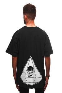 Image of DIAMOND T-SHIRT BLACK