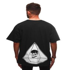 Image of DIAMOND T-SHIRT BLACK
