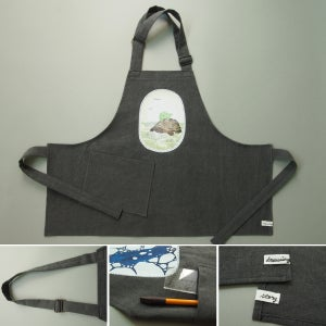 "Image of apron for kids ""Tortoise"""