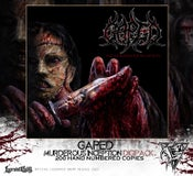 Image of GAPED - Murderous Inception - LIMITED DIGIPACK