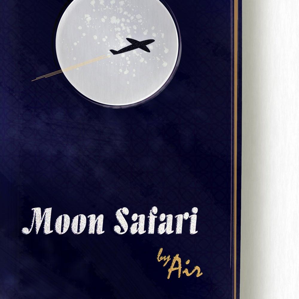 Image of Moon Safari Art Print