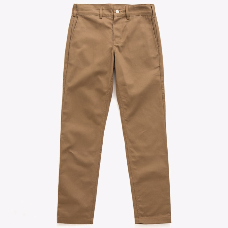 "Image of M.S.S. ""TrimTab"" Uniform Canvas Chinos - DESERT"