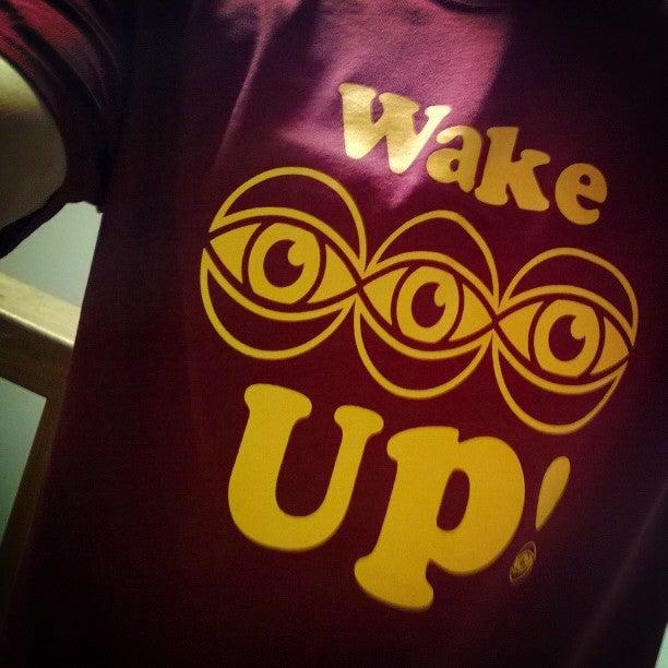 Image of 3rdeye wake up t shirt