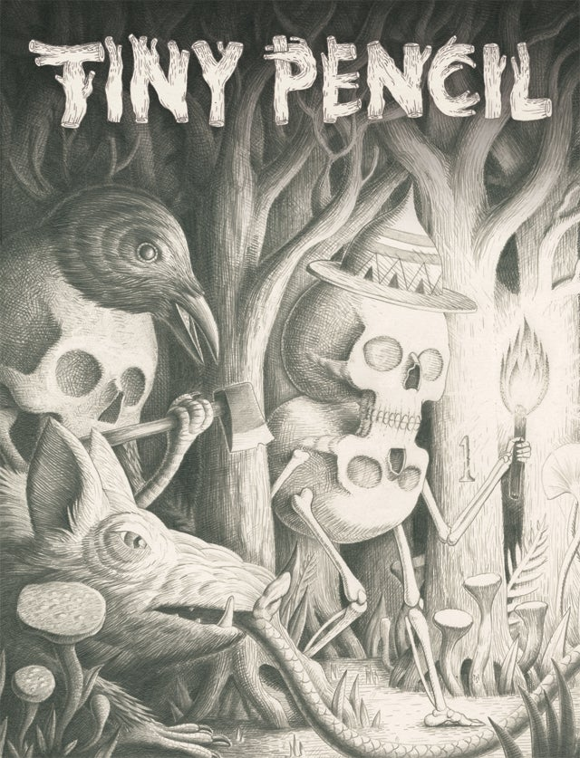 Image of Tiny Pencil 1 : The Forest Issue (SOLD OUT - SORRY!)