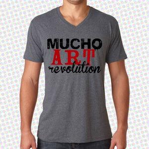 Image of Mucho Art Revolution Triblend V-neck