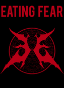 Image of EATING FEAR - OFFICIAL SHIRT - BLOOD RED