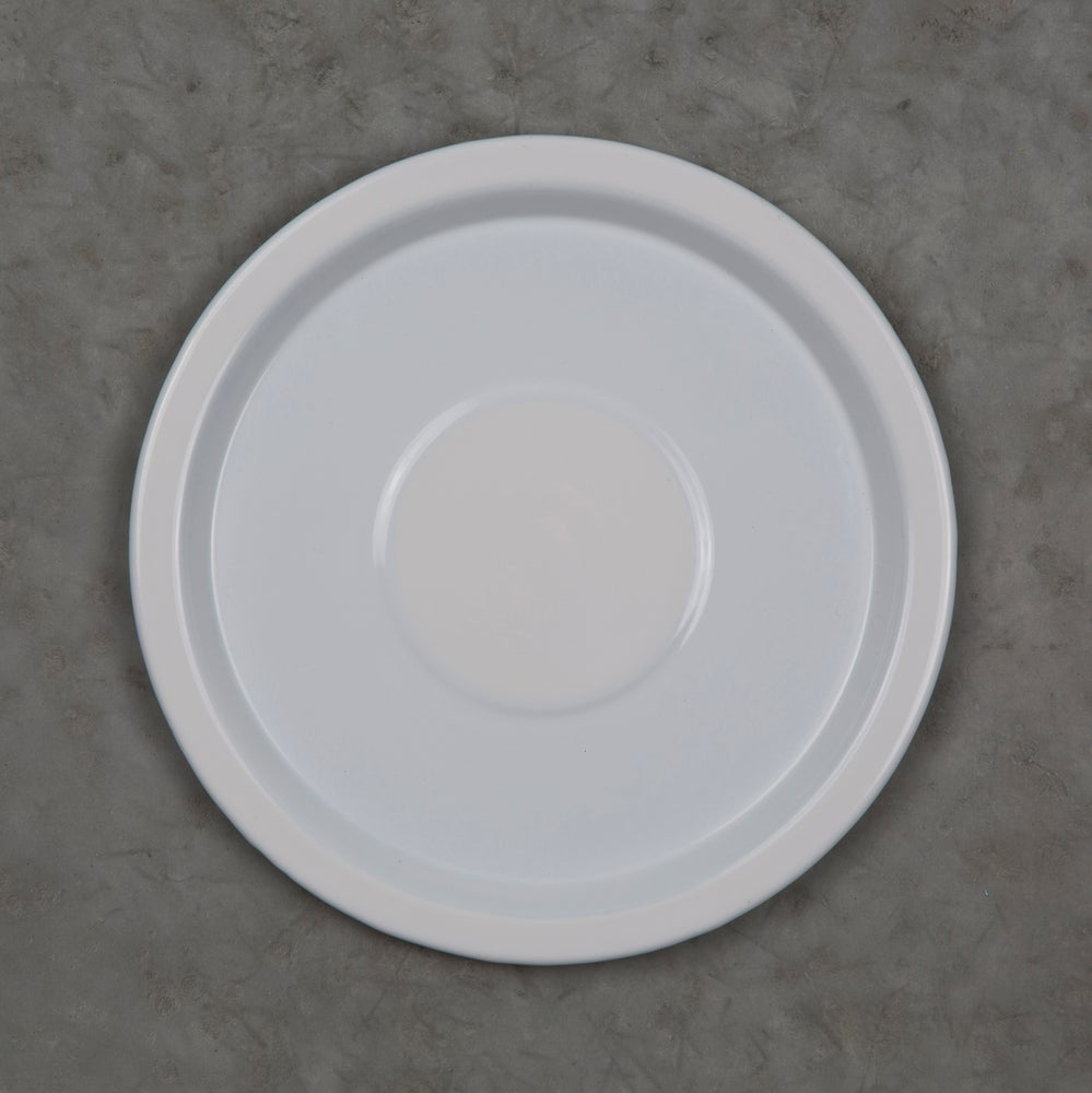 Image of Enamel Plate WHITE 20cm