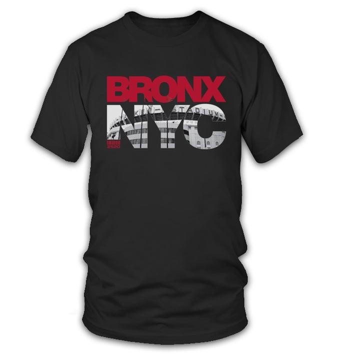 Image of 2520 BRONX NYC TEE - BLACK