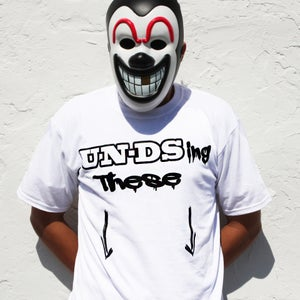"""Image of UN-DSing """"White"""" Graphic Tee"""