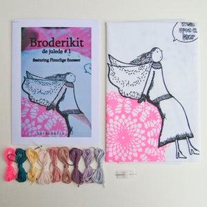 Image of Broderikit de julede #1, featuring Finurlige finesser