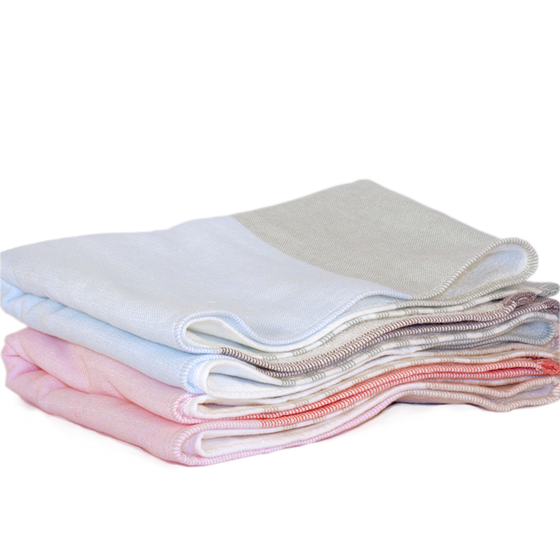 Image of Tri Color Chambray Towel