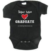 Image of Super Tubie Graduate Infant One-piece - Black