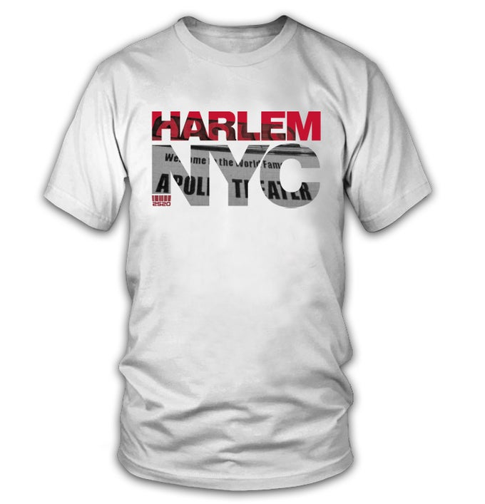 Image of 2520 HARLEM NYC TEE - WHITE (Limited Edition)