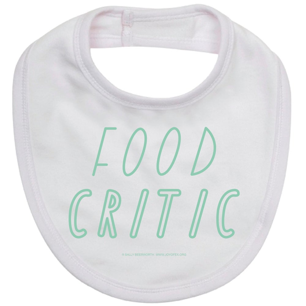 Image of Food Critic Bib