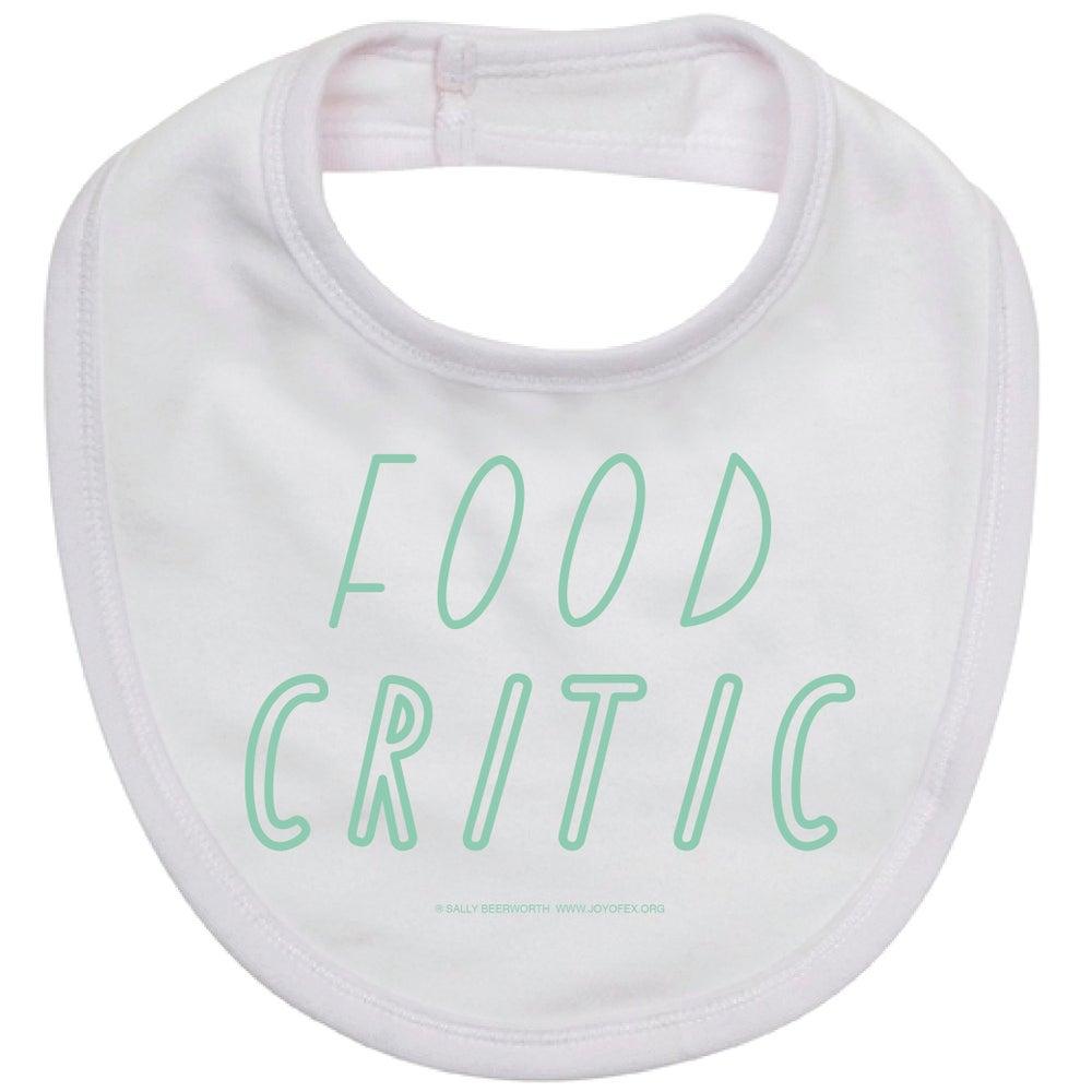 Image of Food Critic Bib