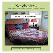 Image of PDF Keyholes Pattern