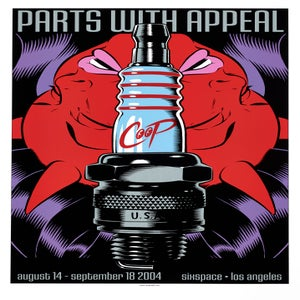 Image of Parts With Appeal - silkscreen print