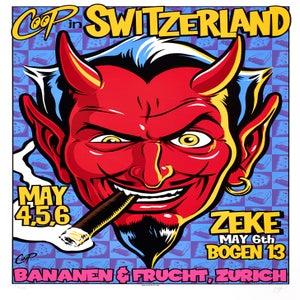 Image of COOP in Switzerland - silkscreen print