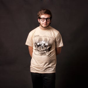 Image of Fixture MEN'S (100% cotton creme American Apparel tee shirt)