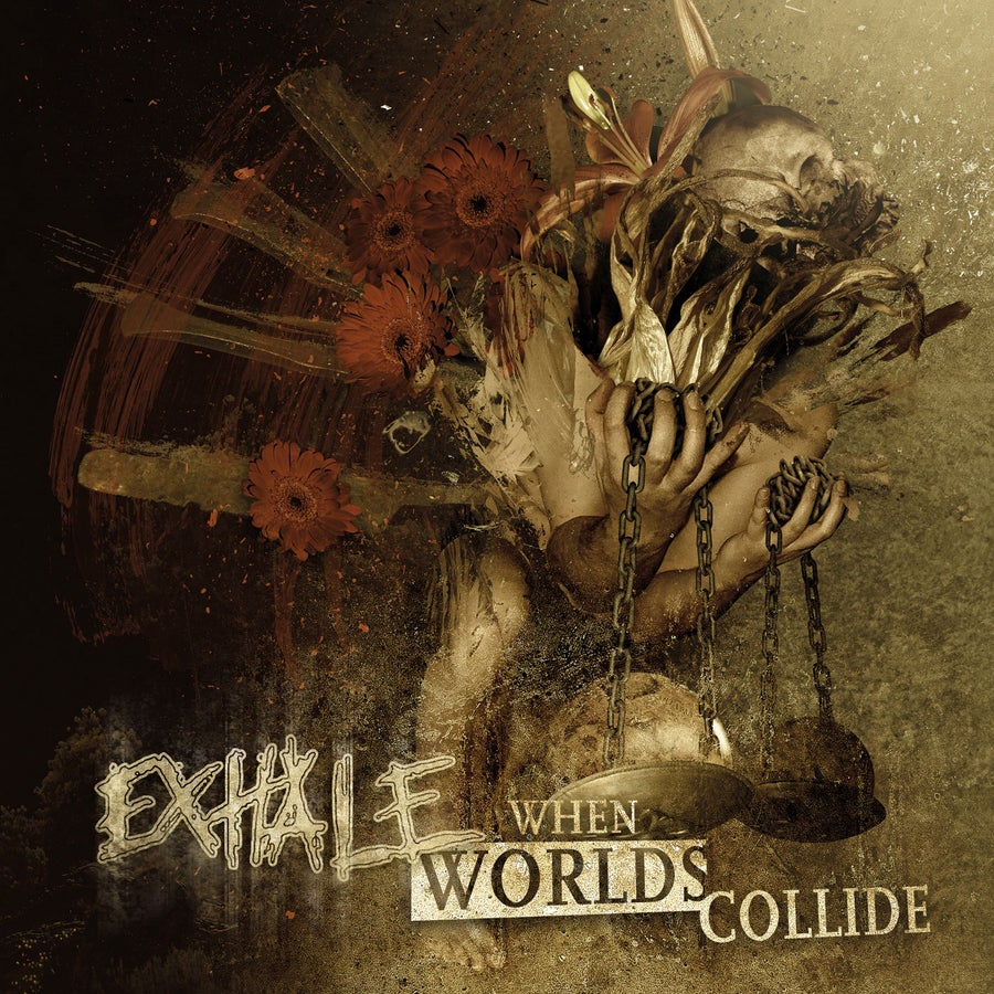 """Image of EXHALE """"When Worlds Collide"""" CD"""